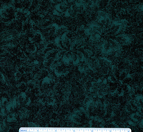 Cotton,Quilt,Fabric,Delhi,Jinny,Beyer,Floral,Tone,On,Forest,Teal,,quilt backing, dresses, quilt fabric,cotton material,auntie chris quilt,sewing,crafts,quilting,online fabric,sale fabric