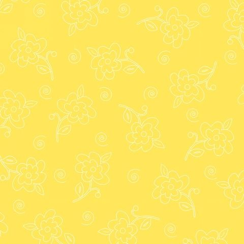 Cotton,Quilt,Fabric,Fab,Friend'zy,Etched,Flower,Yellow,Henry,Glass,,quilt backing, dresses, quilt fabric,cotton material,auntie chris quilt,sewing,crafts,quilting,online fabric,sale fabric