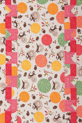 Acorn,Hollow,Table,Runner,Kit,Easy,Kitchen,Or,Wall,Decor,kit,quilt fabric,cotton material,auntie chris quilt,sewing,crafts,quilting,online fabric,sale fabric