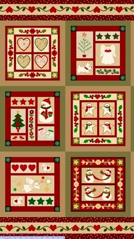 Cotton,Quilt,Fabric,Wrapped,In,Joy,Christmas,Panel,,quilt backing, dresses, quilt fabric,cotton material,auntie chris quilt,sewing,crafts,quilting,online fabric,sale fabric