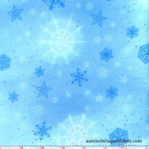 Cotton,Quilt,Fabric,Christmas,Radiant,Holiday,Frost,Snowflake,Stars,,quilt backing, dresses, quilt fabric,cotton material,auntie chris quilt,sewing,crafts,quilting,online fabric,sale fabric