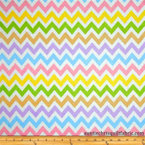 Cotton,Quilt,Fabric,Remix,Chevron,Stripe,Spring,White,Multi,Pastel,,quilt backing, dresses, quilt fabric,cotton material,auntie chris quilt,sewing,crafts,quilting,online fabric,sale fabric