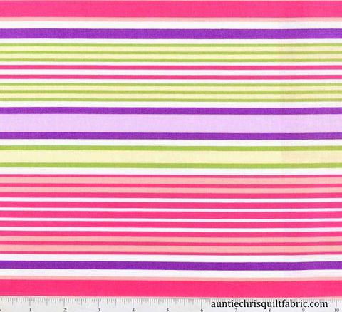 Cotton,Quilt,Fabric,The,Sultons,Garden,Feminine,Stripe,Multi,Pastel,,quilt backing, dresses, quilt fabric,cotton material,auntie chris quilt,sewing,crafts,quilting,online fabric,sale fabric
