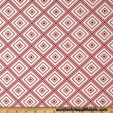 Cotton,Quilt,Fabric,Metro,Living,Box,Stripe,Red,Modern,Geometric,,quilt backing, dresses, quilt fabric,cotton material,auntie chris quilt,sewing,crafts,quilting,online fabric,sale fabric