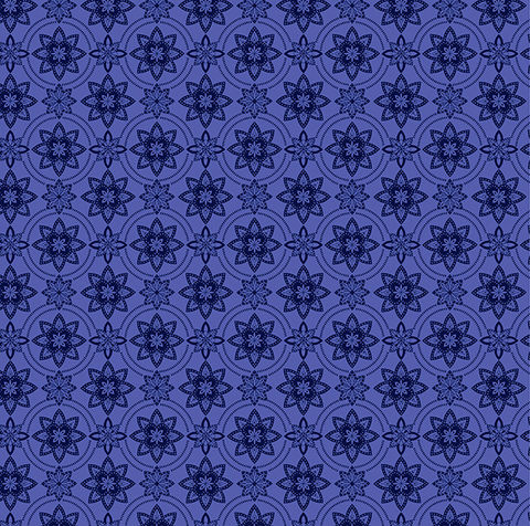 Cotton,Quilt,Fabric,Mosaic,Blooms,Modern,Floral,Periwinkle,Blue,Purple,,quilt backing, dresses, quilt fabric,cotton material,auntie chris quilt,sewing,crafts,quilting,online fabric,sale fabric