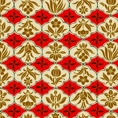Cotton,Quilt,Fabric,Asian,Hyakka,Ryoran,Modern,Movement,Floral,Frames,Red,,quilt backing, dresses, quilt fabric,cotton material,auntie chris quilt,sewing,crafts,quilting,online fabric,sale fabric