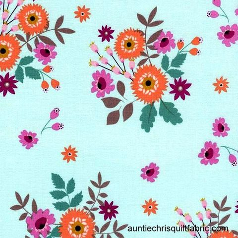 Cotton,Quilt,Fabric,Felicity,Spaced,Bouquets,Mint,Timeless,Treasures,,quilt backing, dresses, quilt fabric,cotton material,auntie chris quilt,sewing,crafts,quilting,online fabric,sale fabric