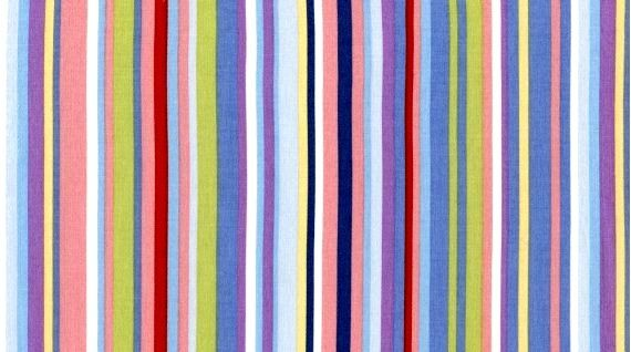 Cotton Quilt Fabric Dear Stella Spring Sreet Pastel Stripe Multi - product images  of