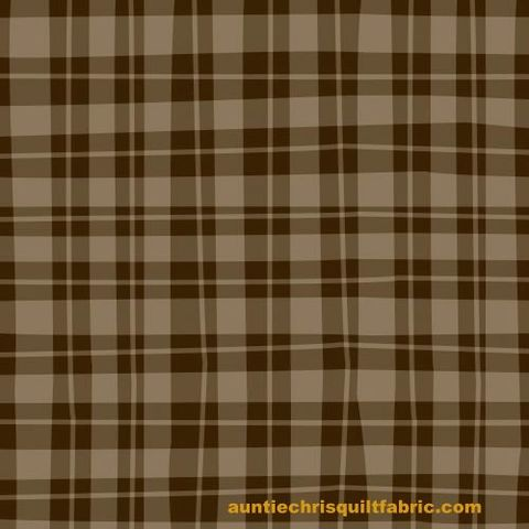 Cotton,Quilt,Fabric,Naughty,Puppies,Brown,Tan,Wavy,Check,,quilt backing, dresses, quilt fabric,cotton material,auntie chris quilt,sewing,crafts,quilting,online fabric,sale fabric