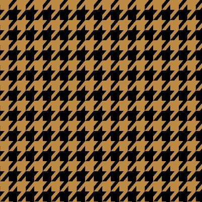 Cotton Quilt Fabric Black & Tan Houndstooth Check  - product images  of