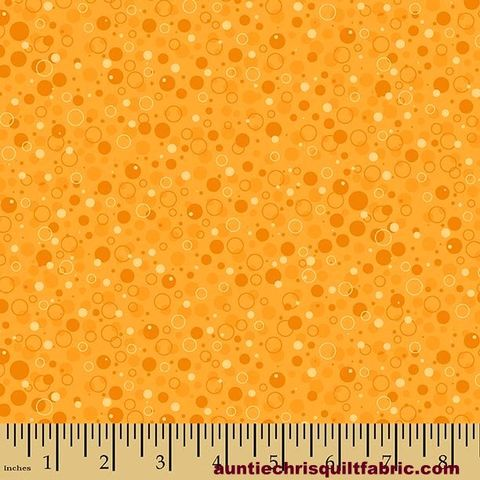 Cotton,Quilt,Fabric,Autumn,Palette,Bubbly,Orange,Dots,,quilt backing, dresses, quilt fabric,cotton material,auntie chris quilt,sewing,crafts,quilting,online fabric,sale fabric