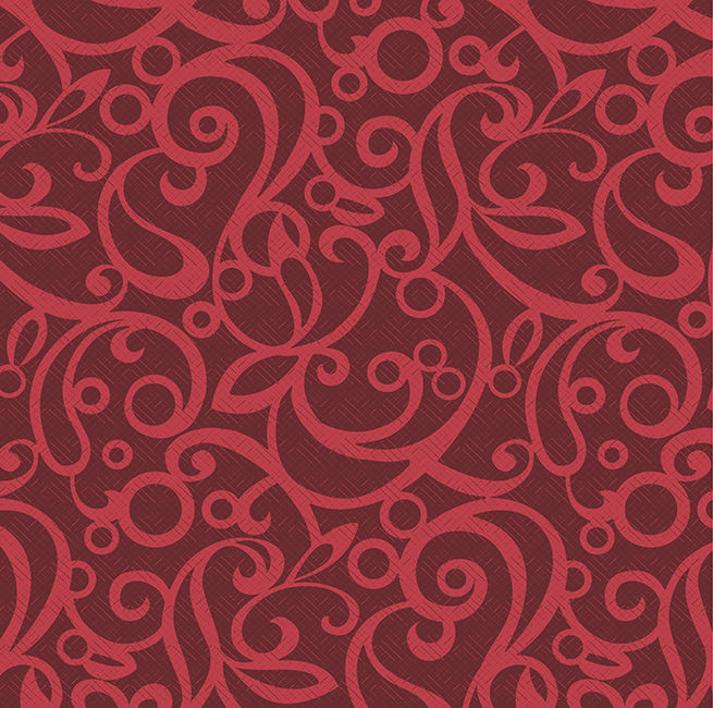 Cotton Quilt Fabric Scarlet Pirouette Wine Red Swirl Tone On Tone - product image