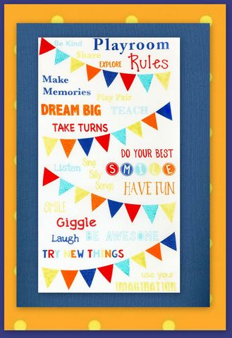 Easy,Kids,Playroom,Rules,Panel,Quilt,Kit,Beginners,Wall/Nap,quilt fabric,cotton material,auntie chris quilt,sewing,crafts,quilting,online fabric,sale fabric
