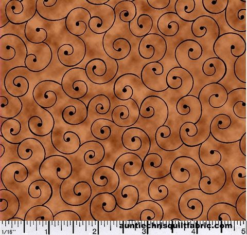 Cotton,Quilt,Fabric,Tilt,A,Whirl,Swirly,Tone,On,Brown,,quilt backing, dresses, quilt fabric,cotton material,auntie chris quilt,sewing,crafts,quilting,online fabric,sale fabric