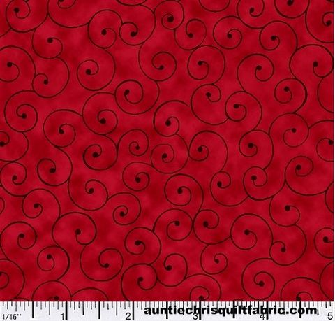 Cotton,Quilt,Fabric,Tilt,A,Whirl,Swirly,Tone,On,Ruby,Red,,quilt backing, dresses, quilt fabric,cotton material,auntie chris quilt,sewing,crafts,quilting,online fabric,sale fabric
