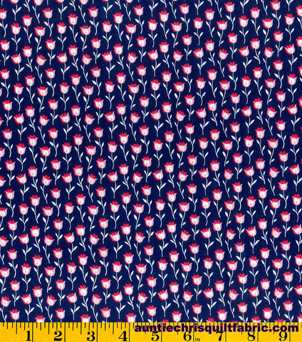 Cotton,Quilt,Fabric,Stonehill,Collection,Navy,Pink,Floral,,quilt backing, dresses, quilt fabric,cotton material,auntie chris quilt,sewing,crafts,quilting,online fabric,sale fabric