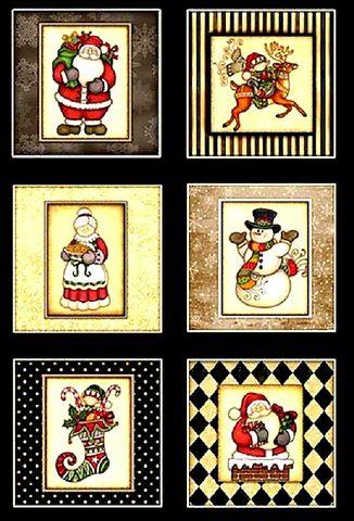 Cotton,Quilt,Fabric,Holly,Jolly,Santa,Snowman,24-inch,Panel,Dan,Morris,,quilt backing, dresses, quilt fabric,cotton material,auntie chris quilt,sewing,crafts,quilting,online fabric,sale fabric