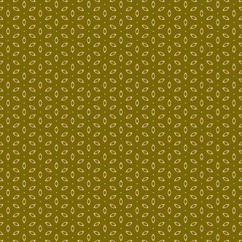 Cotton Quilt Fabric Autumn Palette Grandma's Apron 62721 Moss Green - product images  of