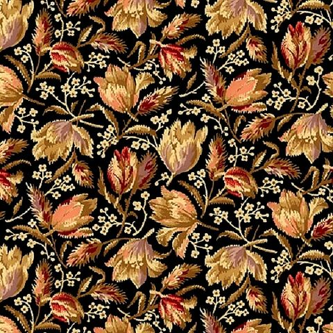Cotton,Quilt,Fabric,Bristol,Medium,Floral,Reproduction,Black,Multi,,quilt backing, dresses, quilt fabric,cotton material,auntie chris quilt,sewing,crafts,quilting,online fabric,sale fabric