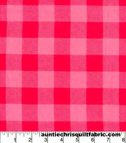 Cotton,Flannel,Quilt,Fabric,Pink,Buffalo,Check,Plaid,,quilt backing, dresses, quilt fabric,cotton material,auntie chris quilt,sewing,crafts,quilting,online fabric,sale fabric