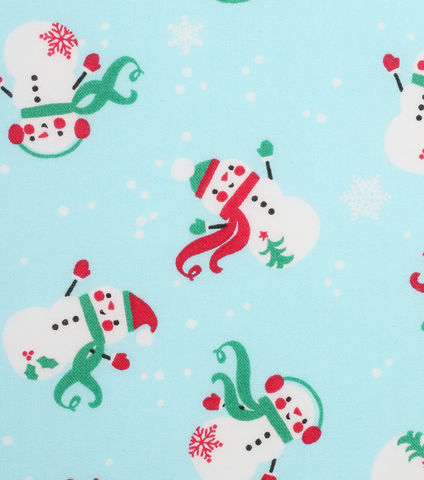 Cotton,Quilt,Fabric,Christmas,Holiday,Showcase,Tosses,Snowmen,Blue,,quilt backing, dresses, quilt fabric,cotton material,auntie chris quilt,sewing,crafts,quilting,online fabric,sale fabric