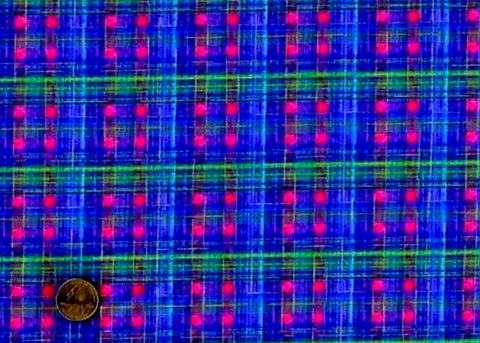 Cotton,Quilt,Fabric,Galaxy,Sara,Moe,Blue,Jewel,Plaid,,quilt backing, dresses, quilt fabric,cotton material,auntie chris quilt,sewing,crafts,quilting,online fabric,sale fabric