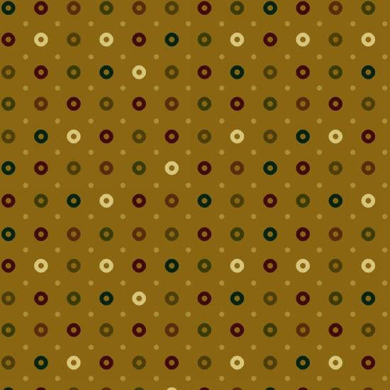 Cotton Quilt Fabric Abundant Blessings Circles Kim Diehl Tan  - product images  of