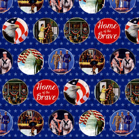 Cotton,Quilt,Fabric,Home,of,the,Brave,Patriotic,Army,Navy,Marines,,quilt backing, dresses, quilt fabric,cotton material,auntie chris quilt,sewing,crafts,quilting,online fabric,sale fabric