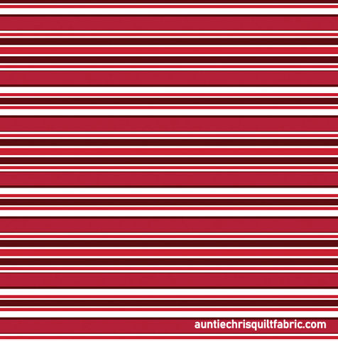 Cotton,Quilt,Fabric,Scarlet,Awning,Stripe,Red,White,,quilt backing, dresses, quilt fabric,cotton material,auntie chris quilt,sewing,crafts,quilting,online fabric,sale fabric