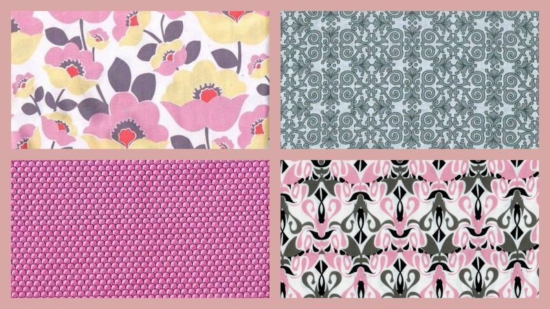 Quick Cuts Cotton Fabric Calypso House Coordinated 2 Yard Medley  - product images  of