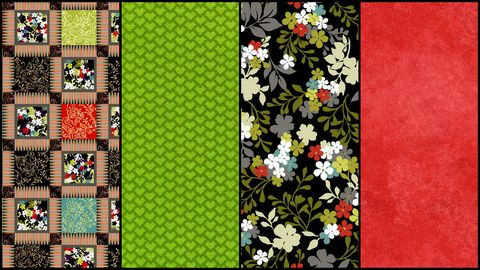 Quick,Cuts,Cotton,Fabric,Costa,De,La,Flores,Hot,Coordinated,2,Yard,Medley,,quilt backing, dresses, quilt fabric,cotton material,auntie chris quilt,sewing,crafts,quilting,online fabric,sale fabric