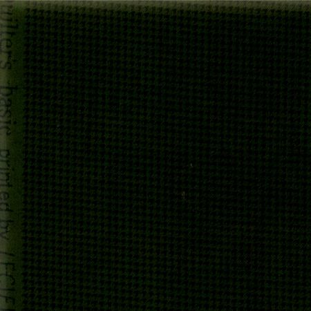 Cotton Quilt Fabric Quilters Basics Dark Green Check Lecien - product images  of