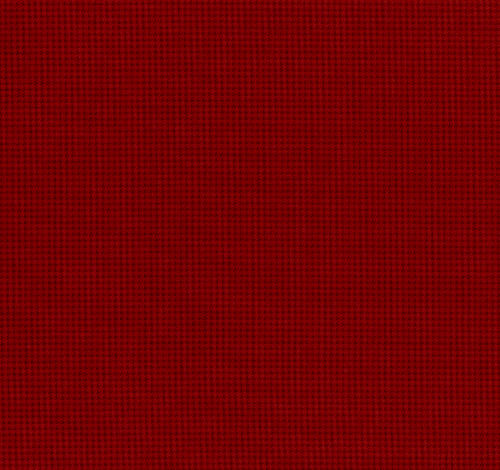 Cotton Quilt Fabric Quilters Basics Dark Red Check Lecien - product images  of