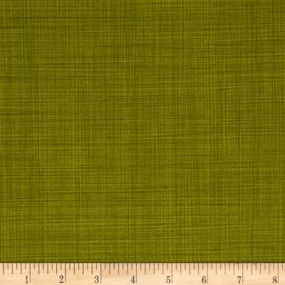 Cotton Quilt Fabric Let's Go Camping Lilys Linen Verdant Green - product images  of