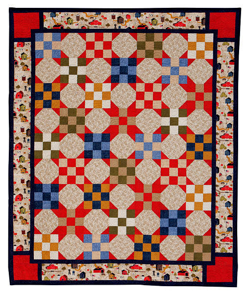 "Homeward Bound Classic Americana Quilt Kit 54"" x 66"" - product images  of"