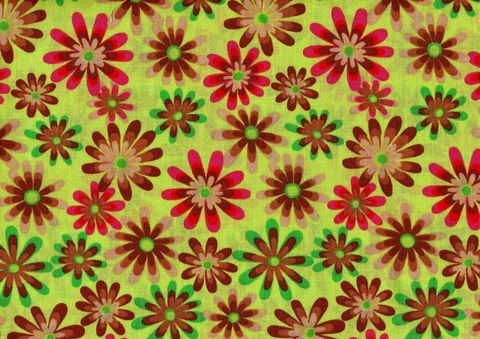 Cotton,Quilt,Fabric,Flower,Power,Ditsy,Daisy,Lime,Green,Multi,,quilt backing, dresses, quilt fabric,cotton material,auntie chris quilt,sewing,crafts,quilting,online fabric,sale fabric