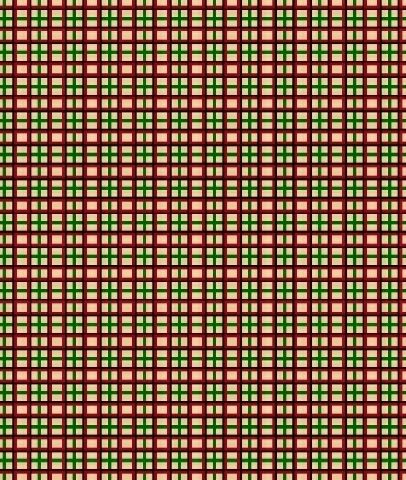 Cotton Quilt Fabric Old Sturbridge Village Christmas Plaid Red Green - product images  of