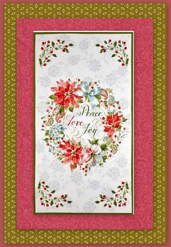 Easy,Fabric,Panel,Quilt,Kit,Magic,of,the,Season,Christmas,Wall,kit,quilt fabric,cotton material,auntie chris quilt,sewing,crafts,quilting,online fabric,sale fabric