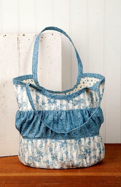 Grace Collection Ruffle Bag Kit By Sewing Sue   - product images  of
