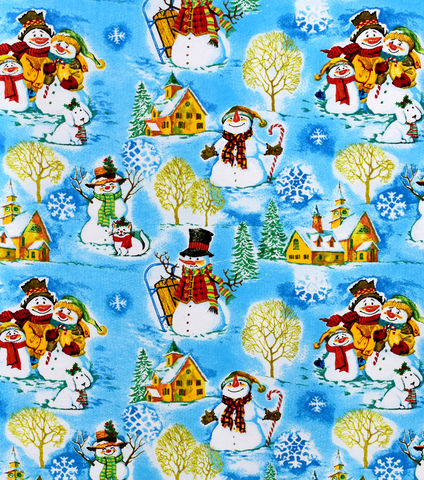 Cotton,Quilt,Fabric,Flannel,Christmas,Snowman,Family,Winter,,quilt backing, dresses, quilt fabric,cotton material,auntie chris quilt,sewing,crafts,quilting,online fabric,sale fabric