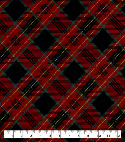 Cotton,Quilt,Fabric,Flannel,Traditional,Holiday,Plaid,Red,Green,,quilt backing, dresses, quilt fabric,cotton material,auntie chris quilt,sewing,crafts,quilting,online fabric,sale fabric