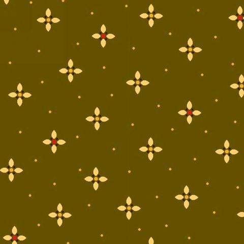 Cotton,Quilt,Fabric,Farmstead,Harvest,Geometric,Petal,Kim,Diehl,Green,Multi,,quilt backing, dresses, quilt fabric,cotton material,auntie chris quilt,sewing,crafts,quilting,online fabric,sale fabric