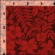 Cotton Quilt Fabric Gathering Wishes Woodland Brush Barn Red - product images  of