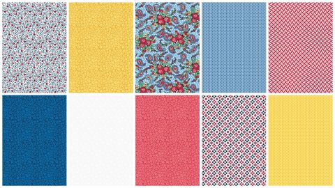 Cotton,Quilt,Fabric,Country,Fair,Summer,Memories,2,1/2,Yard,Medley,,quilt backing, dresses, quilt fabric,cotton material,auntie chris quilt,sewing,crafts,quilting,online fabric,sale fabric