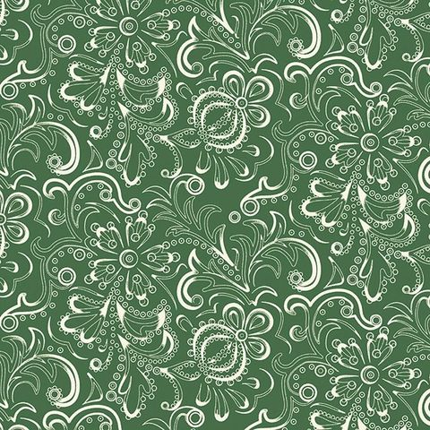 Cotton,Quilt,Fabric,Ornamental,Fern,Sage,Green,Floral,,quilt backing, dresses, quilt fabric,cotton material,auntie chris quilt,sewing,crafts,quilting,online fabric,sale fabric