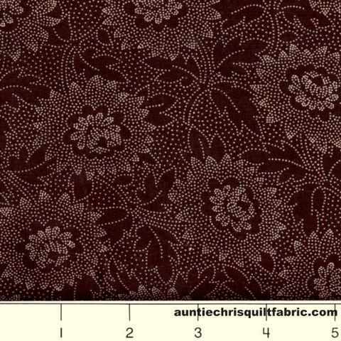 Cotton,Quilt,Fabric,Lacy,Etched,Floral,Chocolate,Brown,,quilt backing, dresses, quilt fabric,cotton material,auntie chris quilt,sewing,crafts,quilting,online fabric,sale fabric