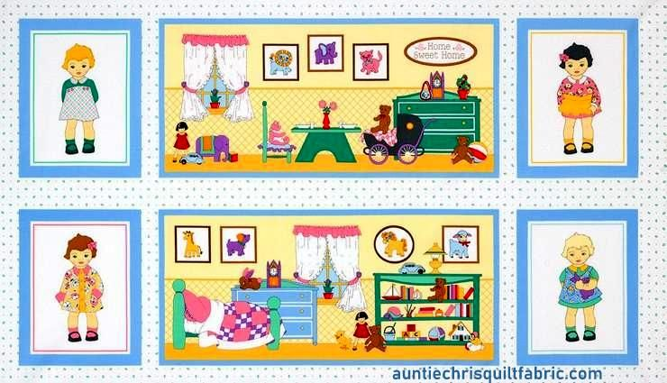 Easy Panel Plus Kit 1930 Reproduction Dolly Jean Doll House Panel - product images  of