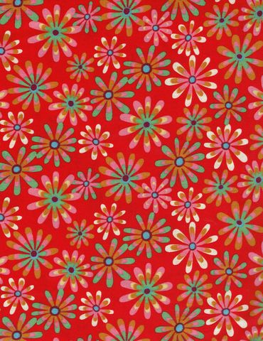 Cotton,Quilt,Fabric,Flower,Power,Ditsy,Daisy,Red,Multi,,quilt backing, dresses, quilt fabric,cotton material,auntie chris quilt,sewing,crafts,quilting,online fabric,sale fabric