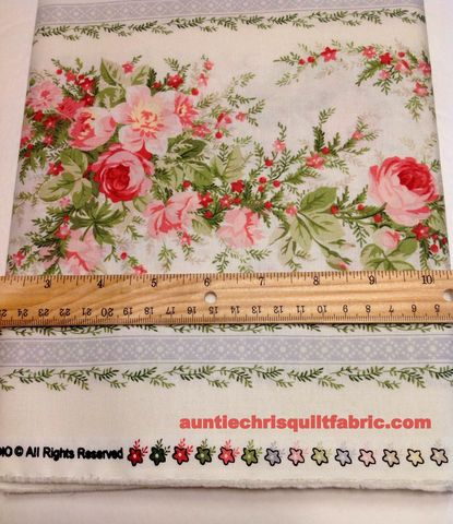 Cotton,Quilt,Fabric,HEATHER,FLORAL,STRIPE,-,NATURAL,,quilt backing, dresses, quilt fabric,cotton material,auntie chris quilt,sewing,crafts,quilting,online fabric,sale fabric