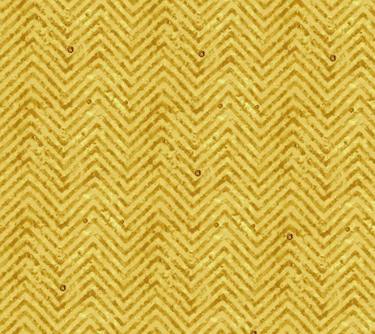 Cotton Quilt Fabric Go Ahead and Wine Skinny Chevron Gold Texture - product images  of